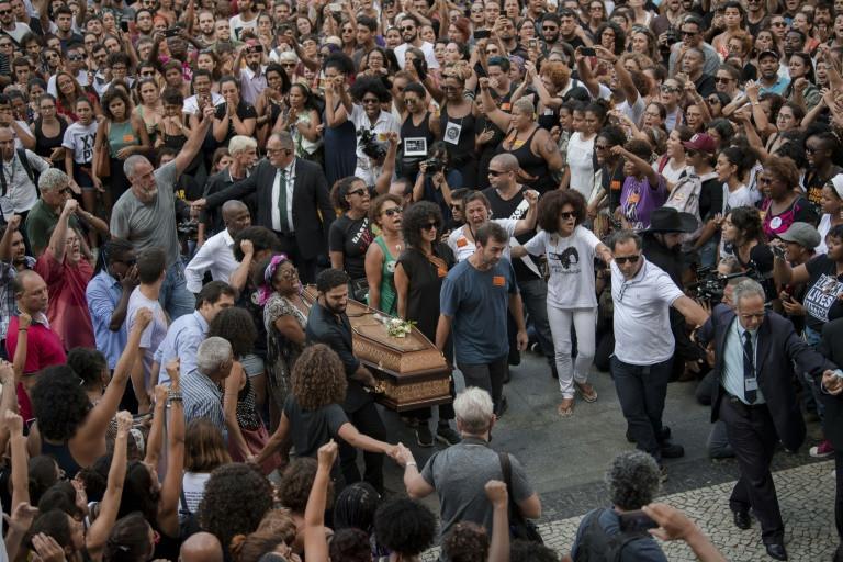 Brazilians mourn brazen murder of Rio councillor, rights activist