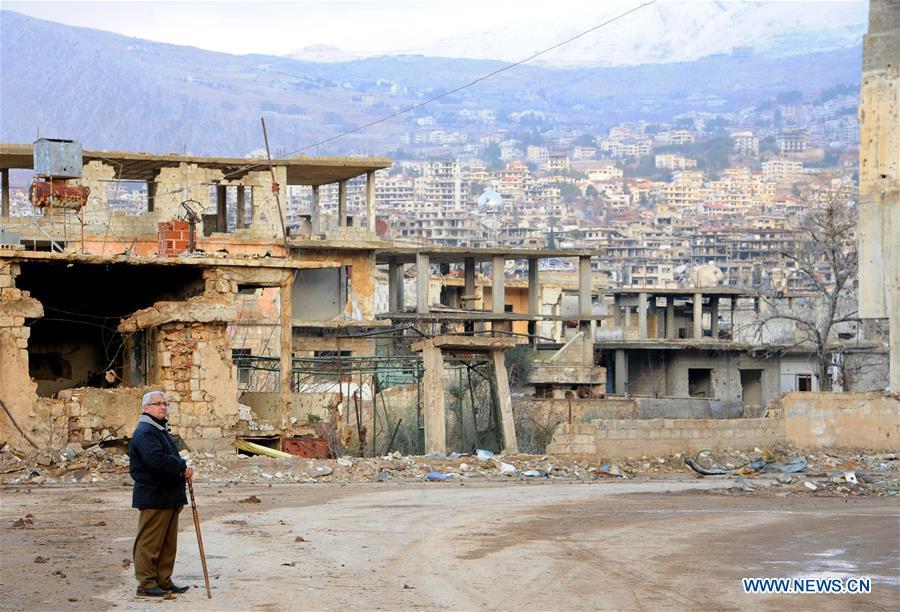 146 civilians evacuate from rebel-held areas in Syria' Eastern Ghouta