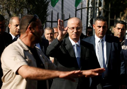 Explosion targets Palestinian PM's convoy while visiting Gaza