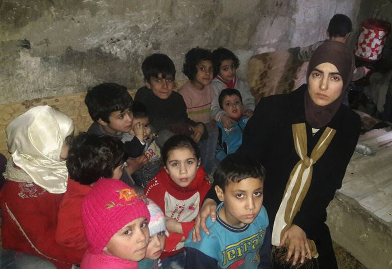 US woman trapped in Syria's Ghouta wants action from Trump