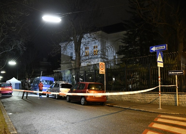 Knife attacker shot dead near Iranian ambassador's home in Vienna