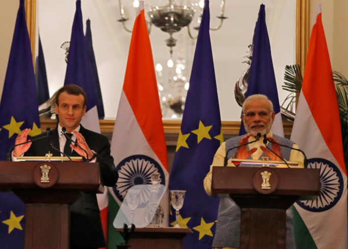 France signs deals worth $16 billion in India; to deepen defense, security ties
