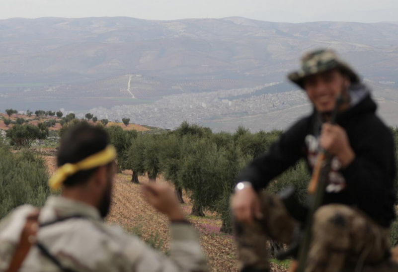 Turkish forces reach outskirts of Afrin town: monitor
