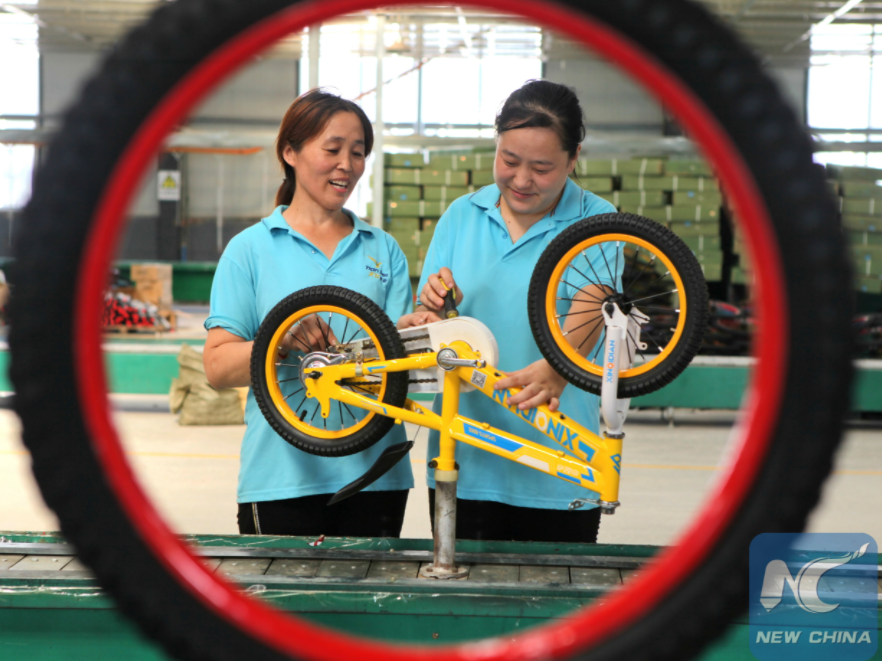 Cycling gains popularity in China