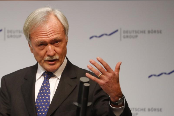 Deutsche Boerse chair Faber stands for reelection amid board revamp