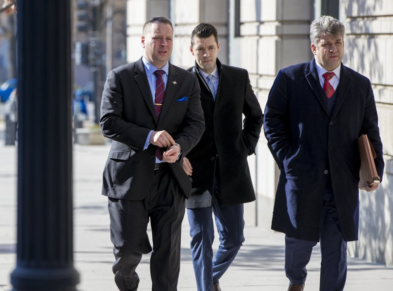 Former Trump campaign aide Nunberg at court for grand jury