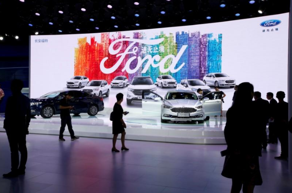 Ford's China vehicle sales in February fall 30 percent year-on-year
