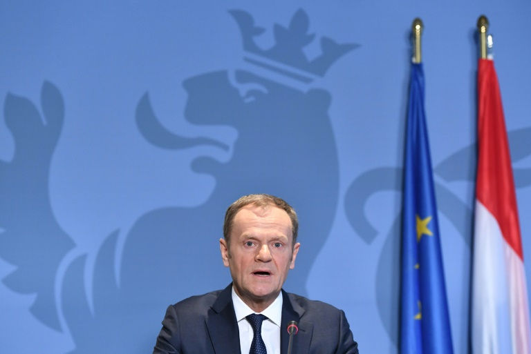 EU doesn't want a 'wall' with Britain: Tusk