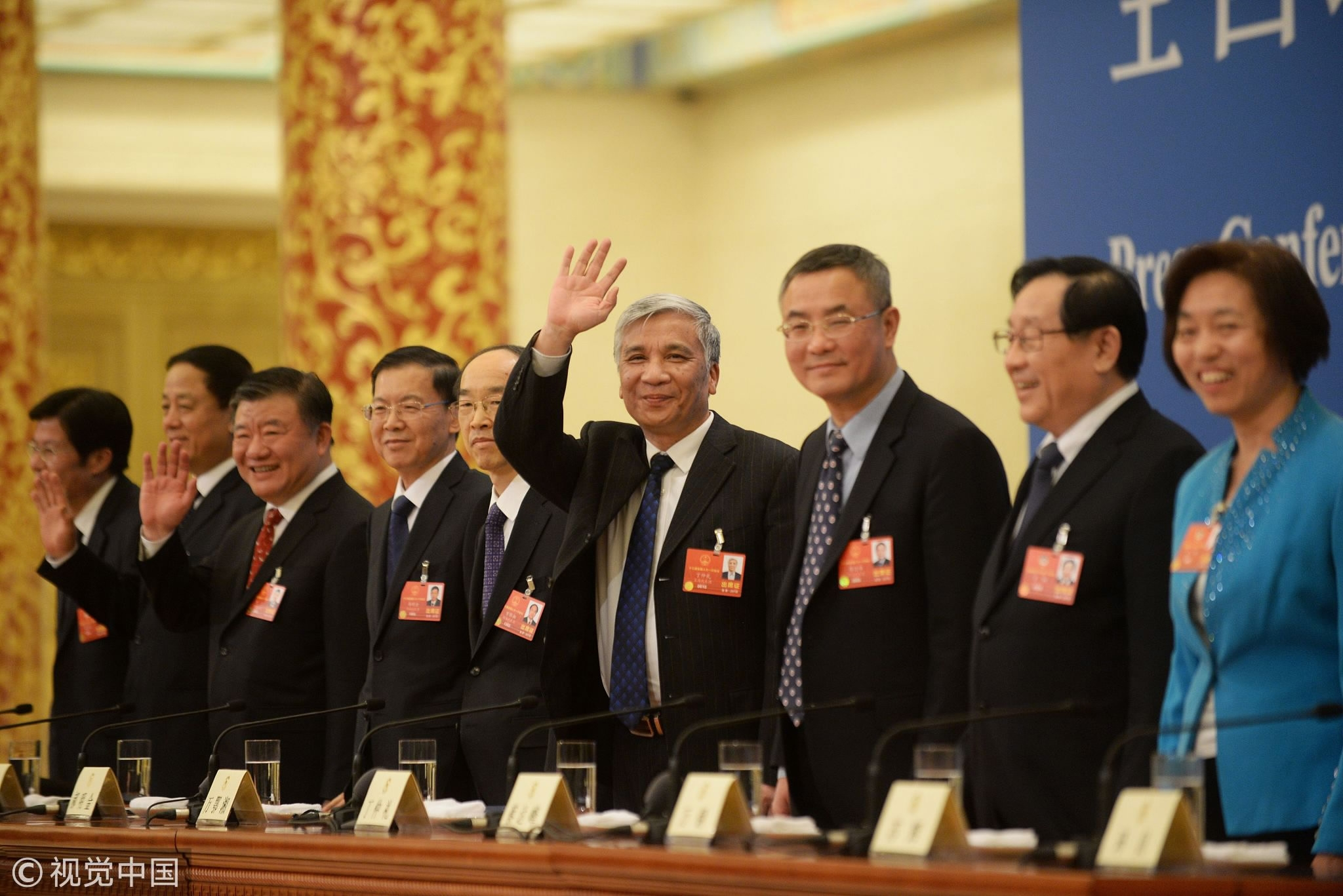 China's Non-Communist parties hold joint press conference
