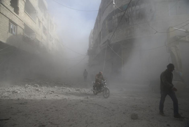 White House accuses Russia of killing civilians in Syria's Ghouta region