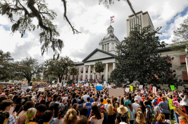 Florida Senate rejects ban on assault weapons, votes to arm teachers
