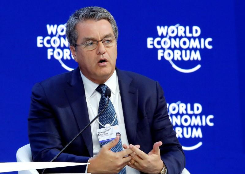 """WTO chief makes rare warning of trade war over U.S. tariff plan""的图片搜索结果"