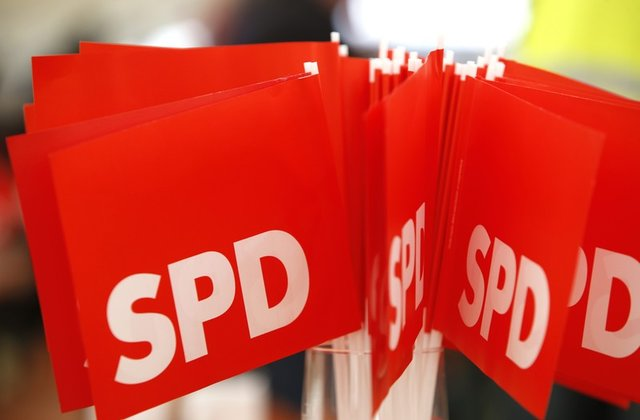 German SPD minister expects 60 percent party support for coalition