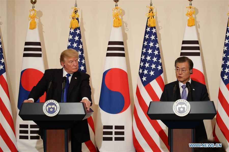 Moon, Trump hold phone conversation over possible US-DPRK talks