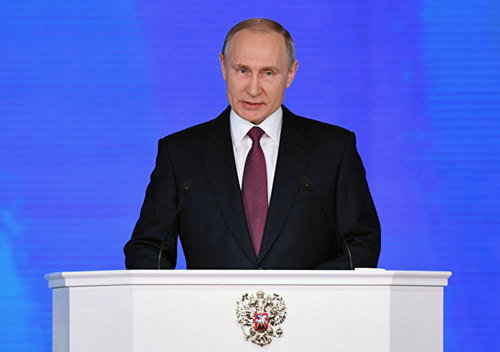 Vladimir Putin During State Address to Russian Federal Assembly  AFP Yuri KADOBNOV_副本.jpg