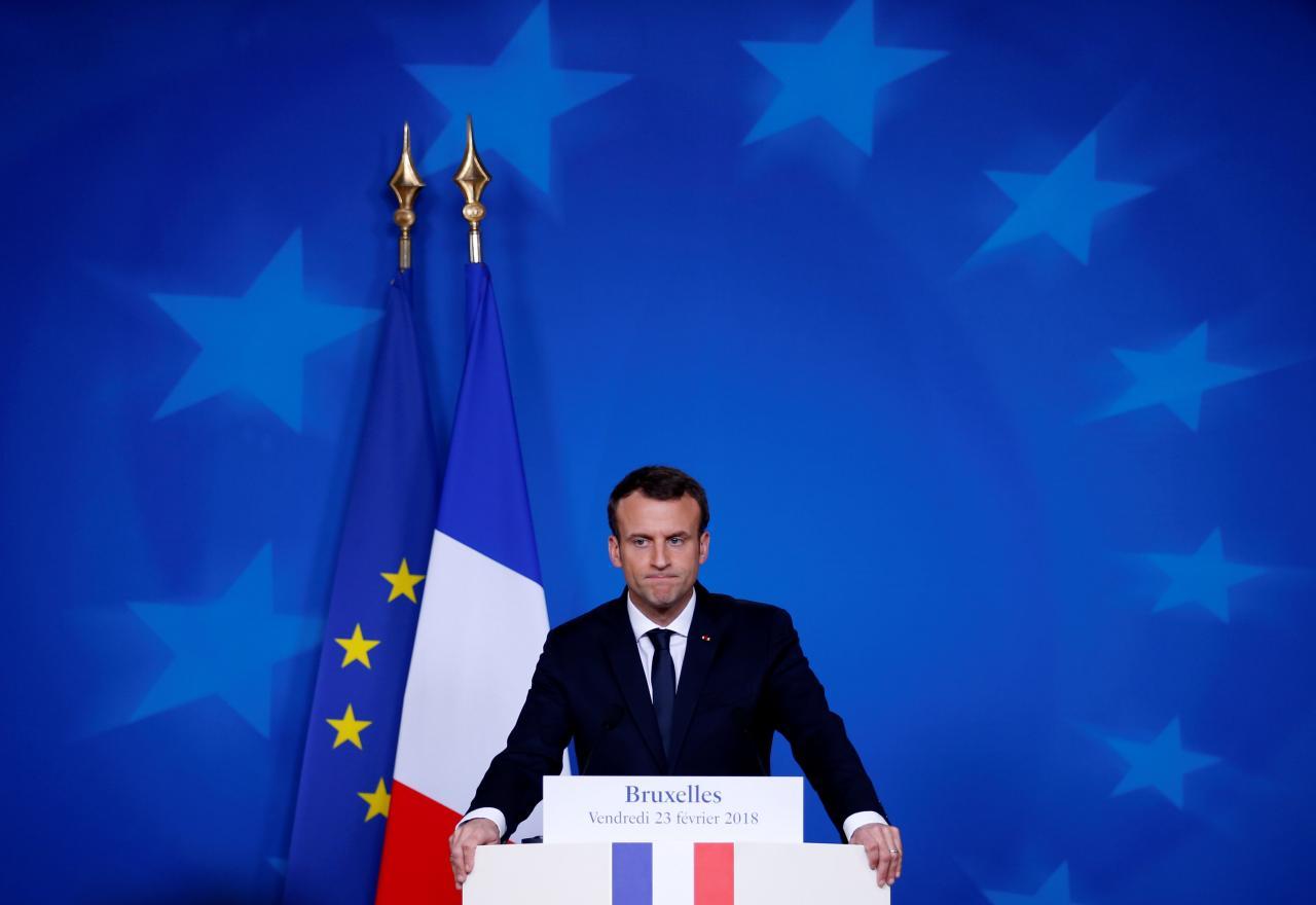 France's Macron tells Erdogan Syria truce also applies to Afrin