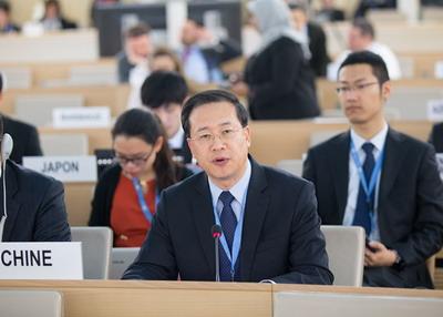 China UN envoy: 'abandon Cold War mentality'