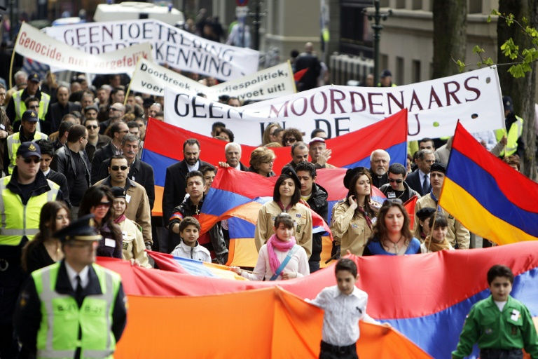 Dutch MPs recognise Armenian 'genocide'