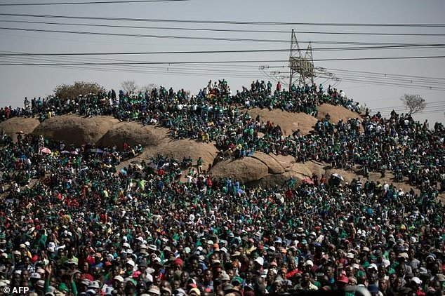 S.Africa's Ramaphosa wants Marikana massacre 'atonement' role