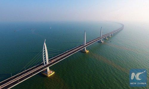 Bridge signals boom for China's Guangdong-Hong Kong-Macao Greater Bay Area
