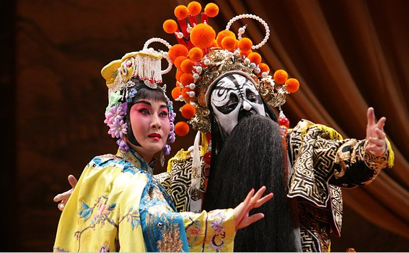 Chinese famous historical play performs in Houston