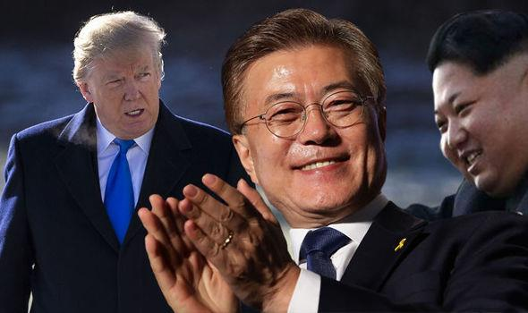 S.Korean president says US shows intention to talk with DPRK