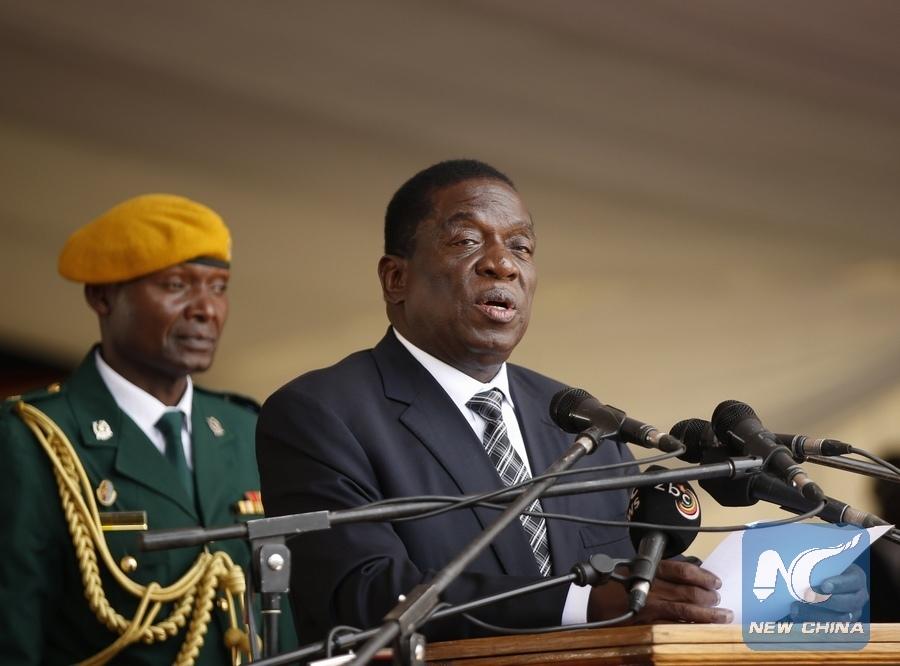 Zimbabwe President Mnangagwa leaves for Botswana for first state visit