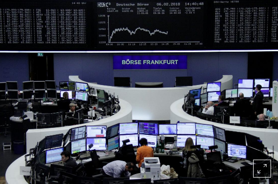 European stocks fall as rebound ends, volatility jumps