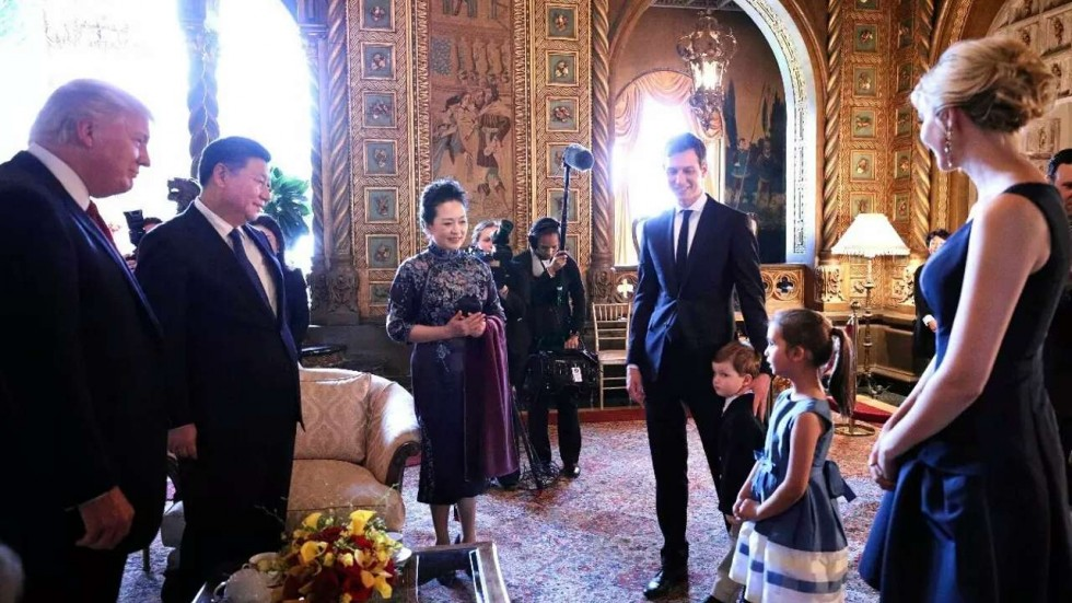 Image result for daughter Reading Chinese poems in front of Xi