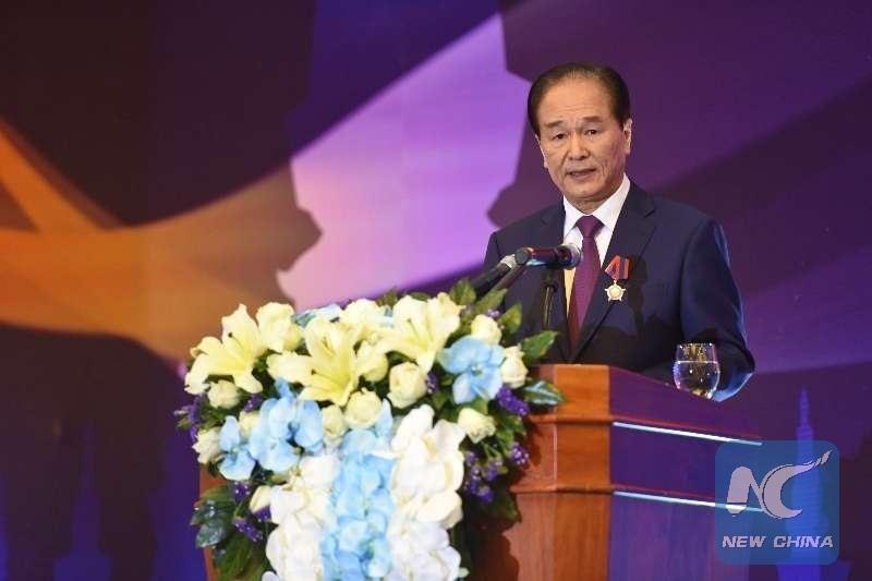 Lao gov't awards freedom medal to China's Xinhua News Agency