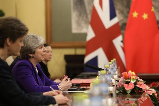 Theresa May eyes closer education, culture exchange amid China visit