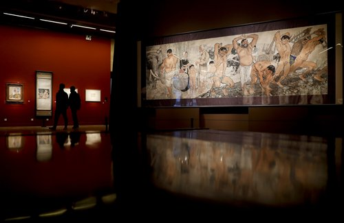 Three traditional art exhibitions celebrate lunar new year