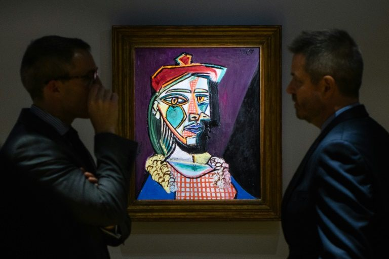 Rare Picasso painting in Hong Kong ahead of historic auction