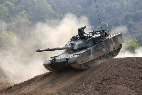 Thailand praises capabilities of new tanks imported from China