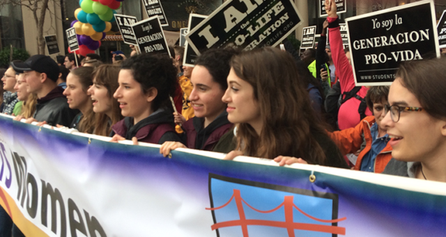 Thousands demonstrate in San Francisco against abortion