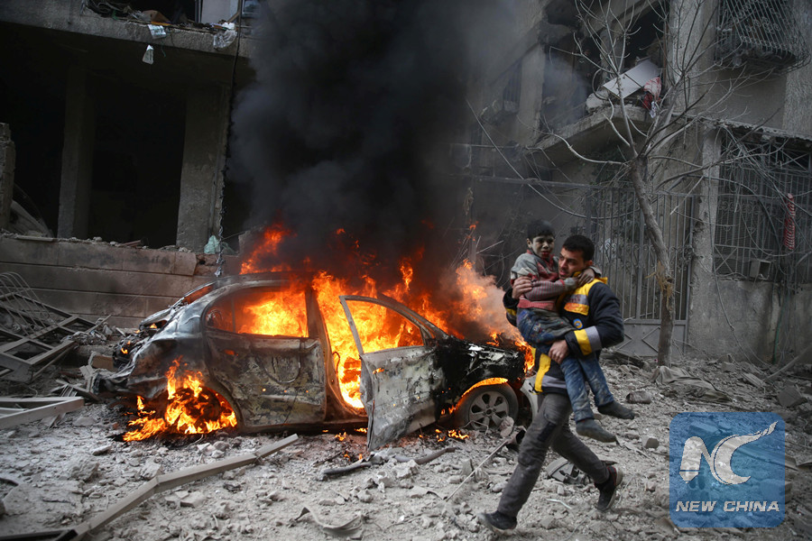 Syrian gov't, rebels agree on cease-fire in Eastern Ghouta in Vienna peace talks