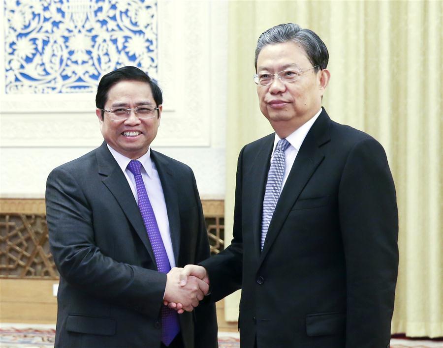 China, Vietnam agree to ensure healthy development of ties