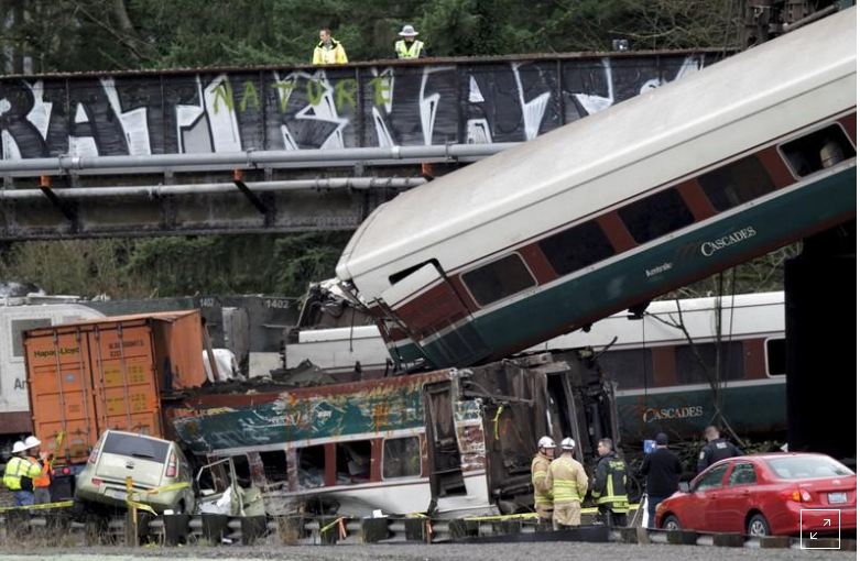 Amtrak engineer misread signal before fatal crash near Seattle: US agency