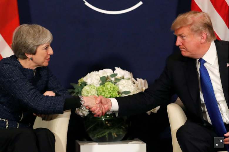 Trump plans to visit Britain this year
