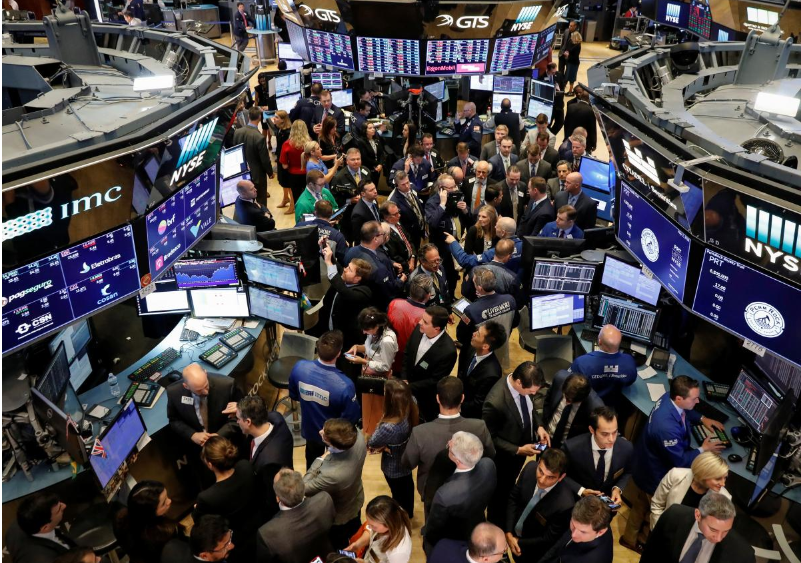 Oil surge keeps Wall Street's losses in check