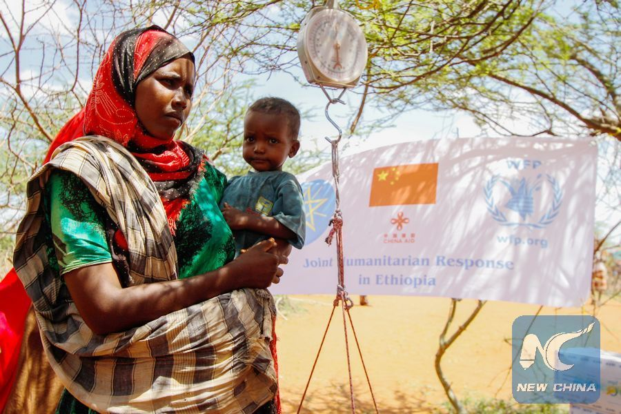 WFP praises Chinese humanitarian support in Ethiopia