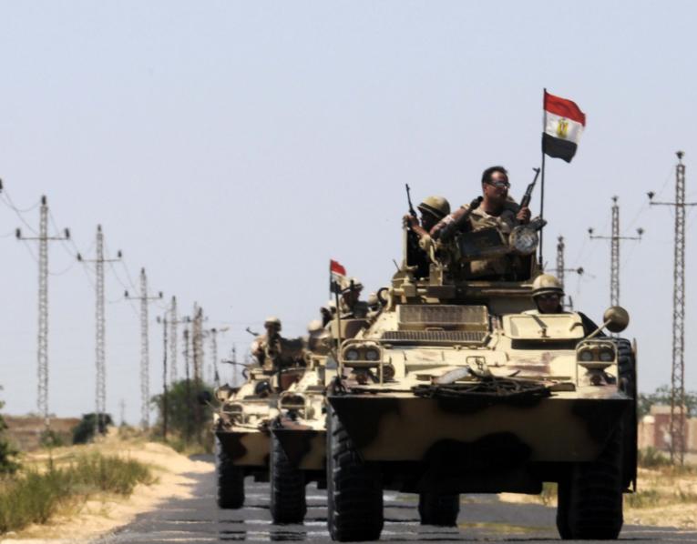 Egypt forces kill 8 terrorists in North Sinai