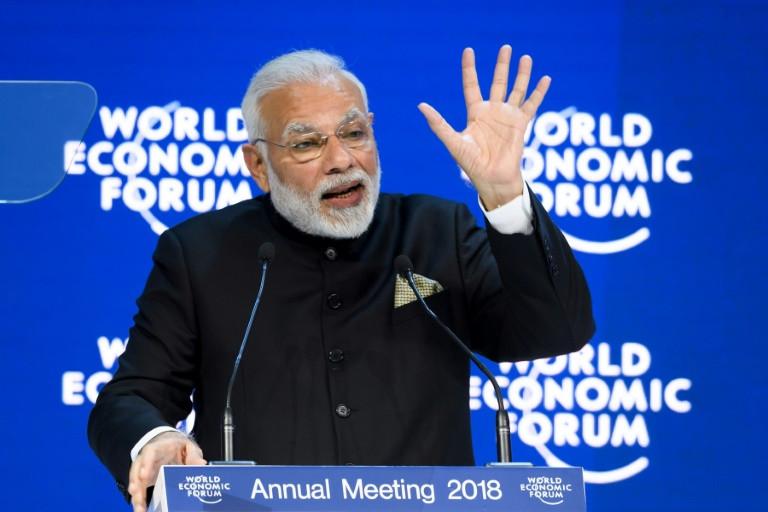 Modi defends open trade despite globalisation's waning allure