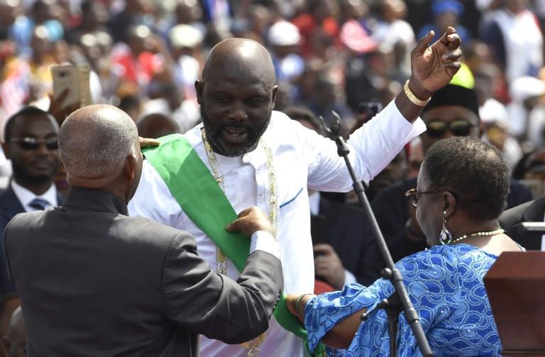 Joy and hope in Liberia as George Weah sworn in as president