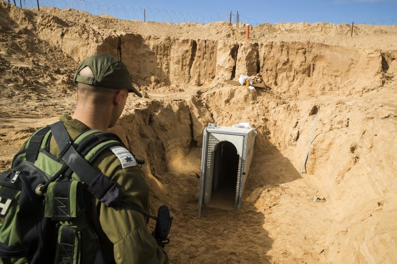 Israel digs deep to thwart tunnel threat from Gaza Strip