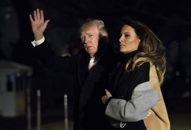 Trump aides debate which version of vulgarity Trump uttered