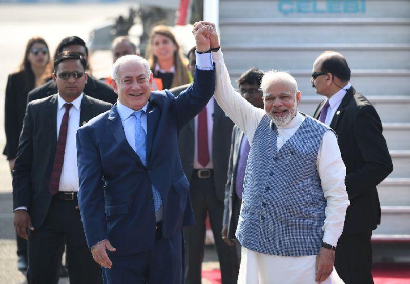 Netanyahu disappointed by ally Modi's Jerusalem rejection