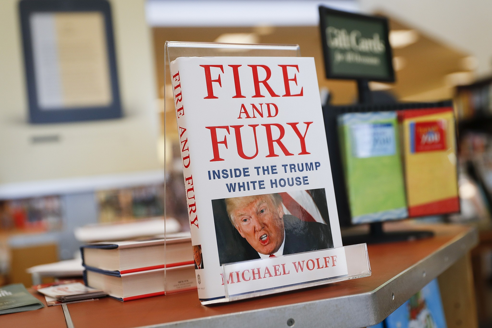 Image result for Fire and Fury: Inside the Trump White House