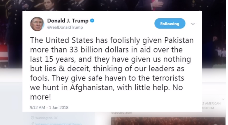 'A mad scramble': How Trump tweet on Pakistan blindsided US officials