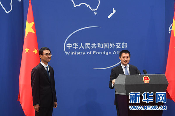 China urges US to handle Taiwan issues carefully